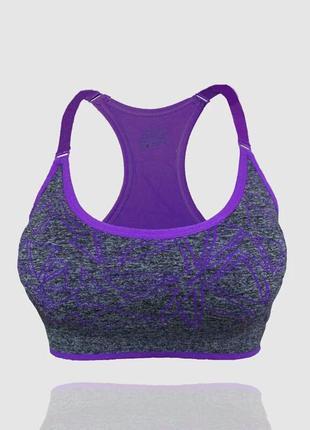 Топ спортивный в геометрический принт, одежда для фитнеса