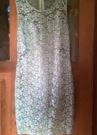 Гипюровое вечернее платье от river island