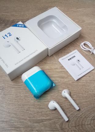 Apple Airpods i12 TWS сенсорные мини беспроводные наушники