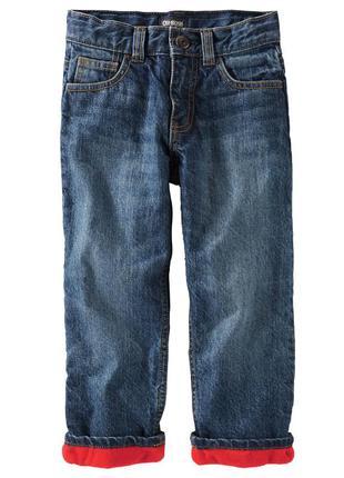#розвантажуюсь джинсы на флисе oshkosh, размер 7
