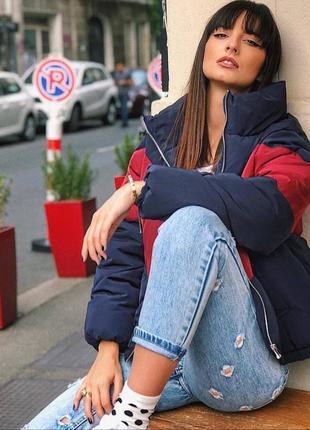 Короткая куртка пуфер,куртка на синтепоне