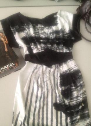 Оригинальное платье.1066