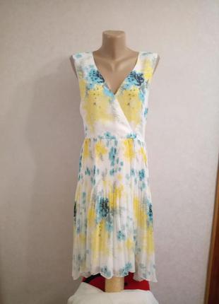 Распродажа! oasis нежное шифоновое платье с удлиненной спинкой...