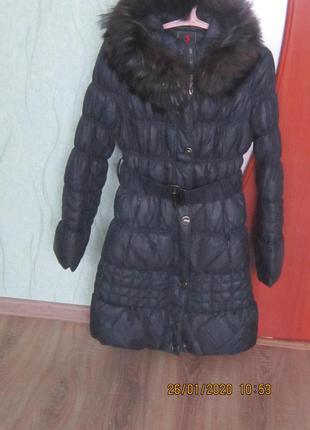 Пуховик пальто пуховое