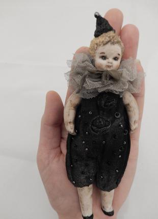 """Авторская интерьерная кукла """" Мальчик в колпаке """""""