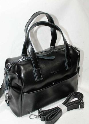 Женская кожаная сумка из натуральной кожи жінлча шкіряна