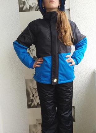 Куртка спортивная, термо, брендовая, лыжная