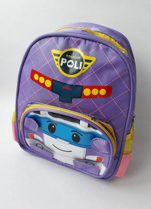 Детский рюкзак робокар поли, poli. уценка