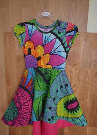 Шикарное платье для девочки 9-10 лет