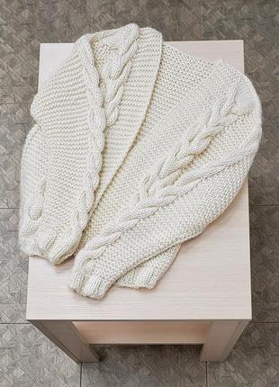 Свитер вязанный, ручная работа, handmade,