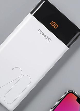 Power Bank Внешний аккумулятор Romoss LT20 20000мАч 2xUSB для ...
