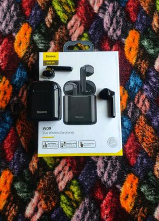 Наушники Baseus Encok W09 | Беспроводные Bluetooth | блютуз
