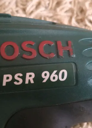 Шуруповерт Bosch PSR 960 без аккумулятора!