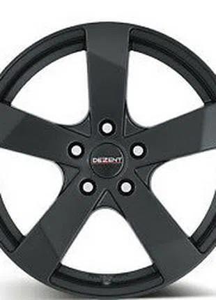 Dezent TD 7.5x18 J H2 LK PCD5x112 ET51 DIA70.1 BLACK Pirelli