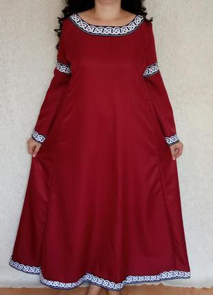 Платье хендмейд