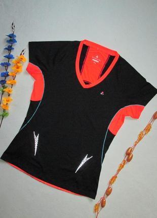 Спортивная футболка с яркими вставками papaya