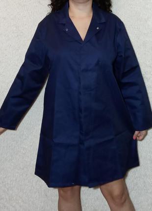Плотный рабочий халат