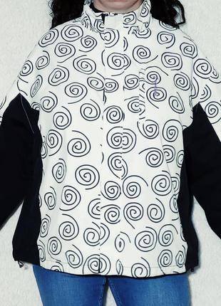 Куртка ветровка на подкладке, батал