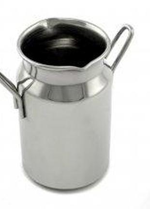 Молочник для смешивания молока в виде бидончика с носиком на 8...