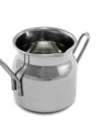 Молочник для смешивания молока в виде бидончика с носиком на 4...