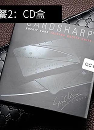 нож-кредитка-визитка-мультитул CARDSHARP / SINCLAIR
