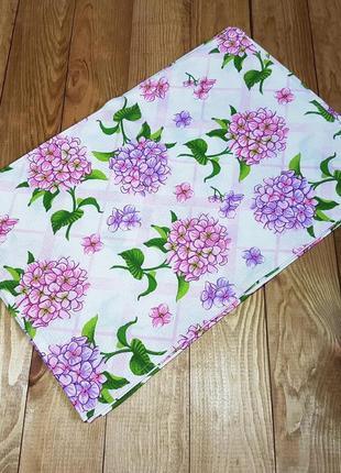 """Вафельное полотенце """"цветы"""" 49*32"""