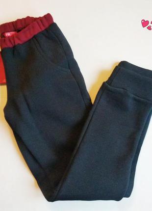 Теплые штаны f91, брюки спортивные с начёсом, спортивная одежда