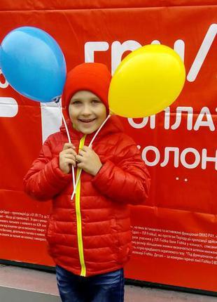Куртка теплая  мальчику 122-128р