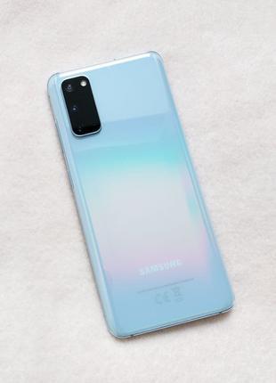 Смартфон Samsung Galaxy S20 SM-G980 8/128GB Light Blue (SM-G980FL