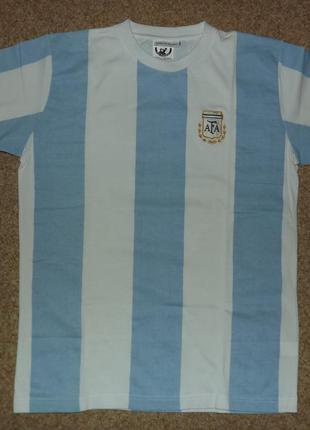 Футболка cборная аргентины. футбол