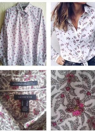 Новая рубашка., блуза из плотного 100% хлопка  !