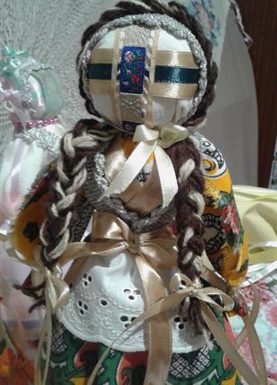 Кукла-мотанка украинский сувенир стильный подарок и оберег в дом