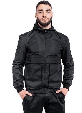 Мужская осенняя куртка спортивная ветровка непродуваемая куртка
