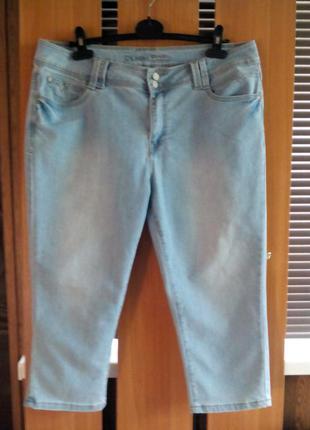 Новые джинсовые женские бриджи samba