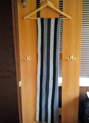Супер мужской зимний шарф