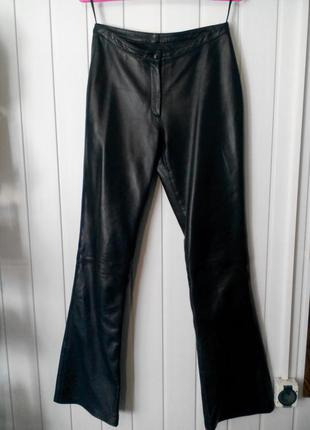 Женские брюки из натуральной кожи