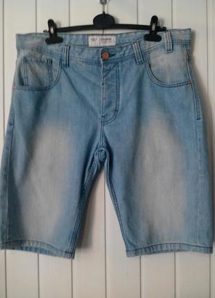 Мужские джинсовые шорты большого размера