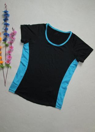 Спортивная футболка с яркими вставками tu