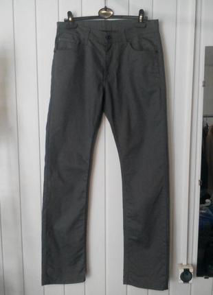 Супер мужские серые джинсы blue french market by celio