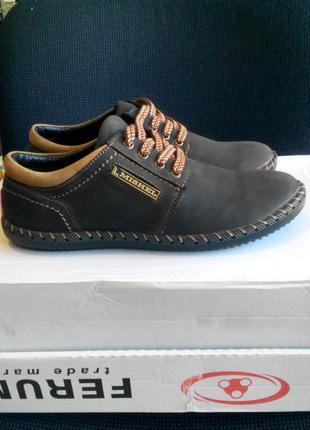 Супер мокасины туфли из натуральной кожи mishel
