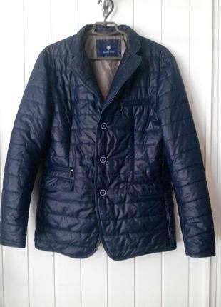 Фирменная италия мужская демисезонная куртка gautieri