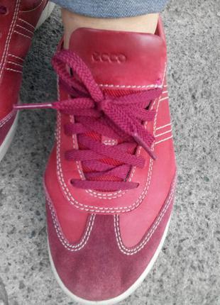 Брендовые кожанные сплртивные туфли