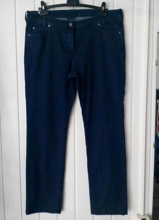 Прямые джинсы с высокой посадкой  большого размера greiff