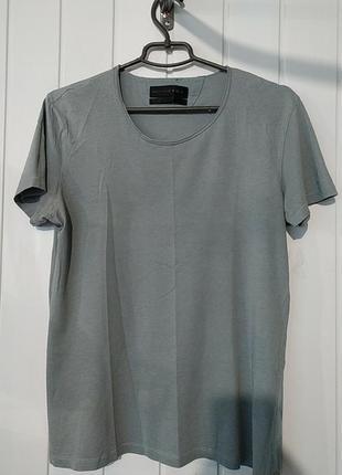 Женская стрейчевая футболка zara