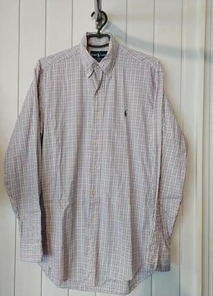 Брендовая мужская рубашка большого размера