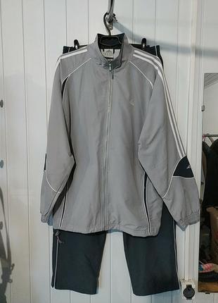 Оригінал adidas спортивний костюм великого розміру