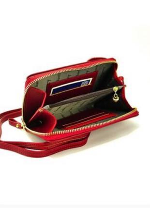 Женская сумка-кошелек Baellerry Forever Young красный