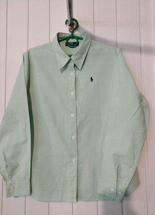 Оригинал! женская брендовая рубашка  polo ralph lauren