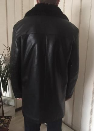 Френч, куртка зимняя, дублёнка, размер 50-52