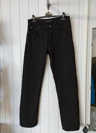Мужские черные джинси max&liu